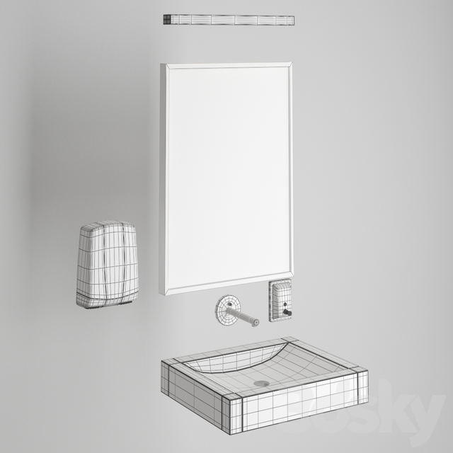 Sanitary facilities and furnishings for public spaces
