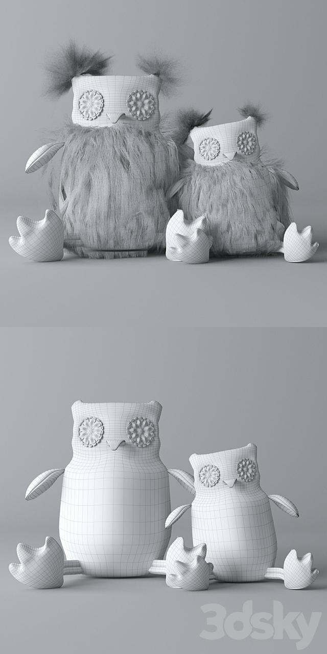 Plush Owls