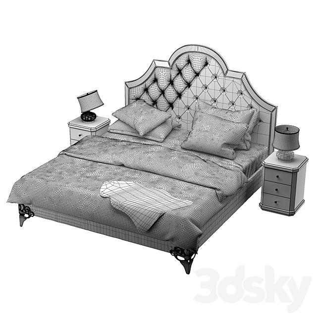 Bed Garda Decor