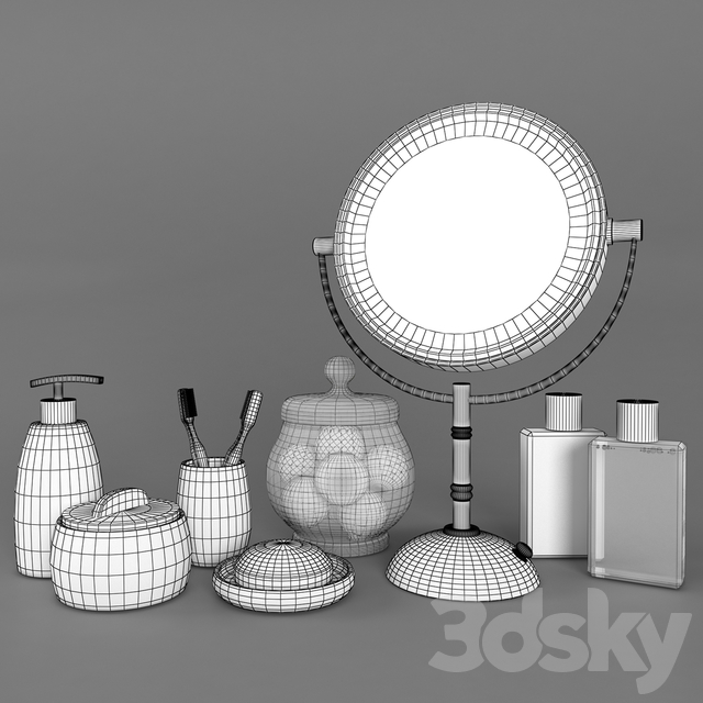 A set of accessories for vannoy_2