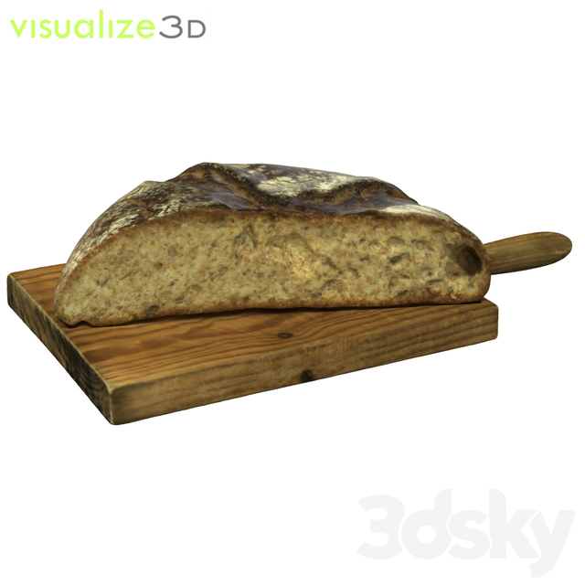 Half Bread roll