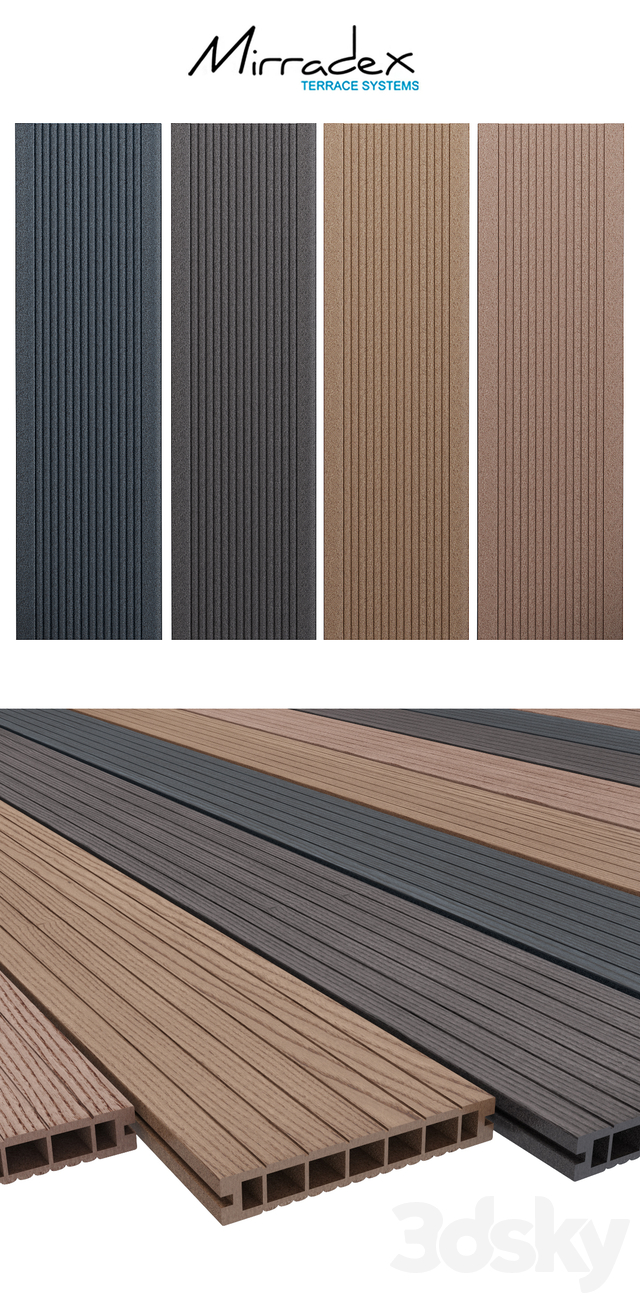 Mirradex slip decking