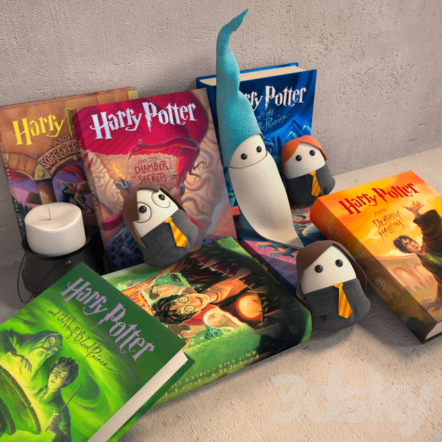 A series of books about Harry Potter
