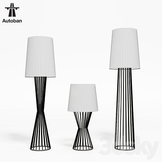 Autoban Tulip Cone + Pinch + Small Family lamps
