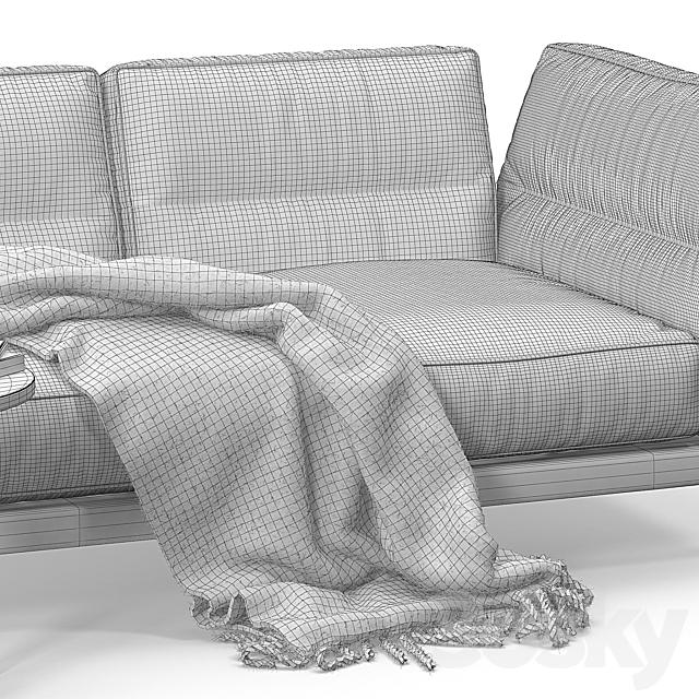 Flexform Adda sofa set