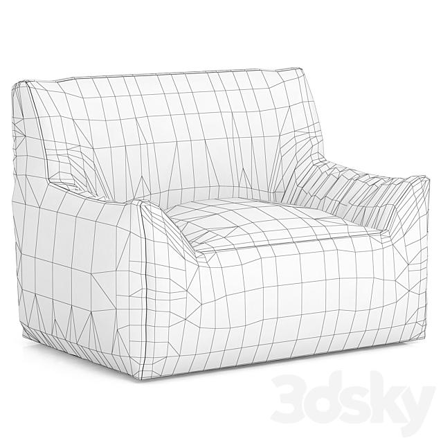 RH Teen Berlin Lounge Canvas Chair