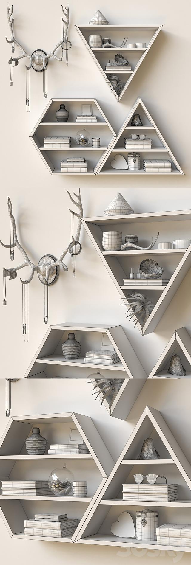 Triangular Shelves