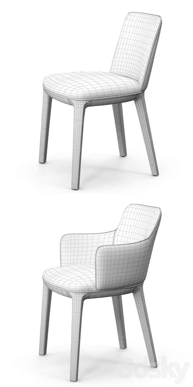 Potocco candy chairs