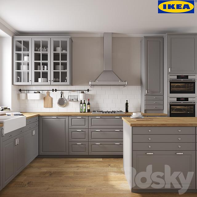 3d models: Kitchen - IKEA BODBYN