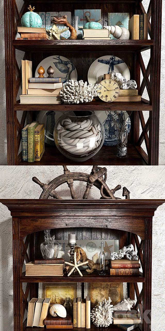 Sea decorative set 01