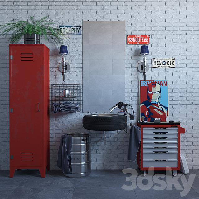 Loft Bathroom Set