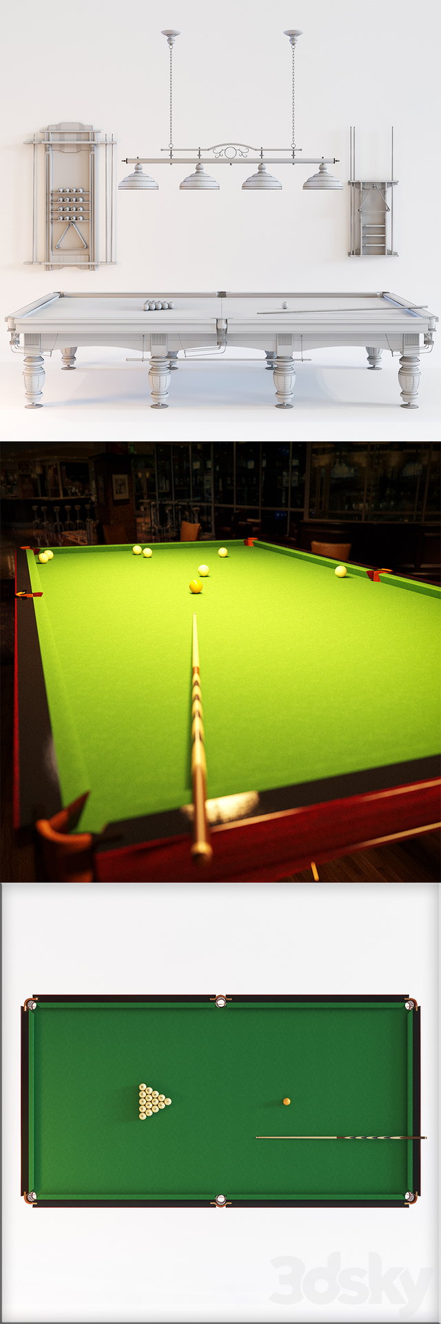 Billiard table Duke - 12 feet