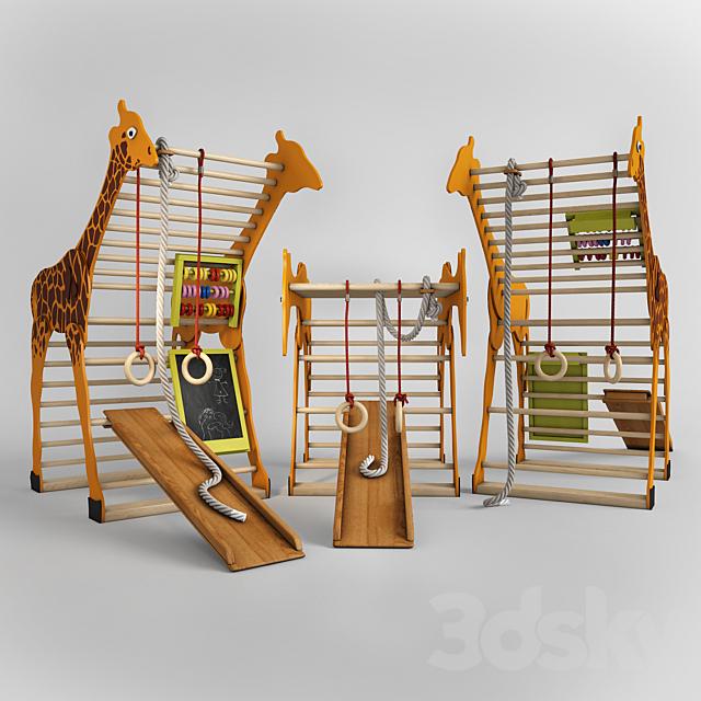 """Children's sports complex SportBaby """"Squirrel"""", """"Giraffe"""""""
