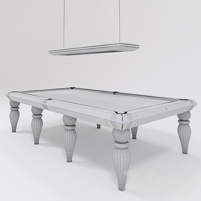 Billiard table Savicchi Opera Murano Venice