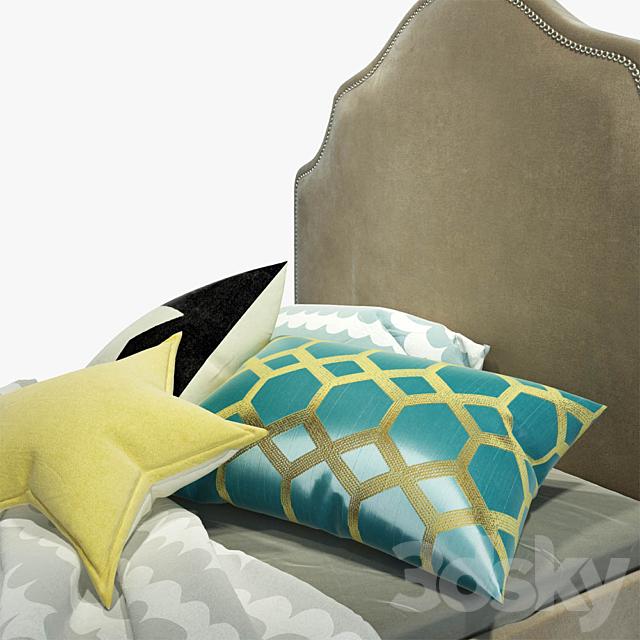 Single bed WINE Princess