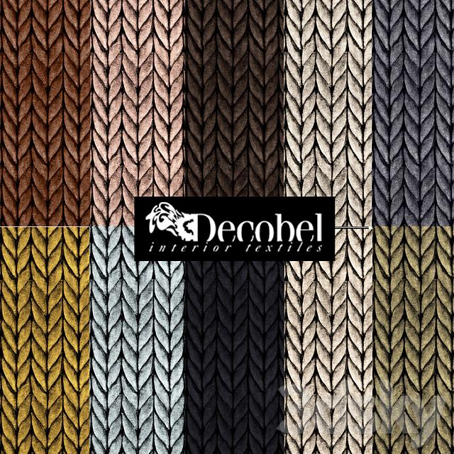 "Seamless texture ""Pigtail"" (10 pcs.) Decobel"