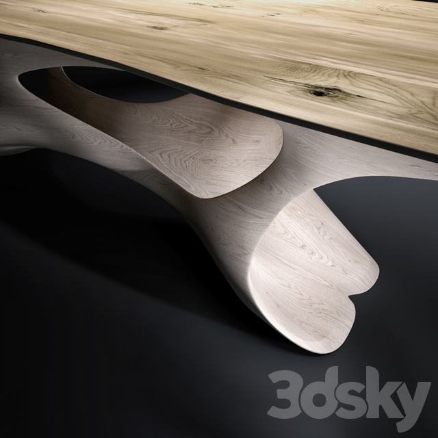 Dining table Erosion II