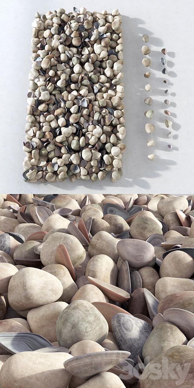 Pebble sea / Sea pebbles