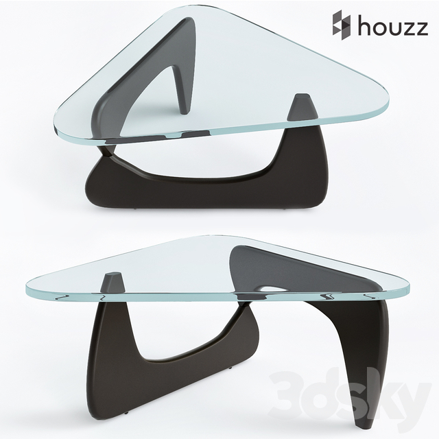 Triangle Glass Coffee Tables