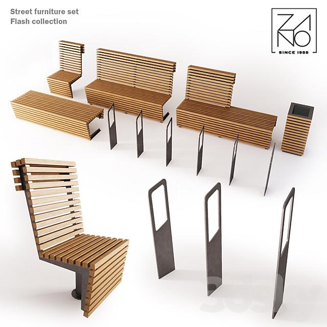 Zano PL Street furniture set
