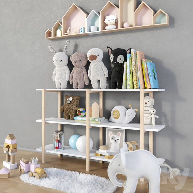 Toys and furniture set 13