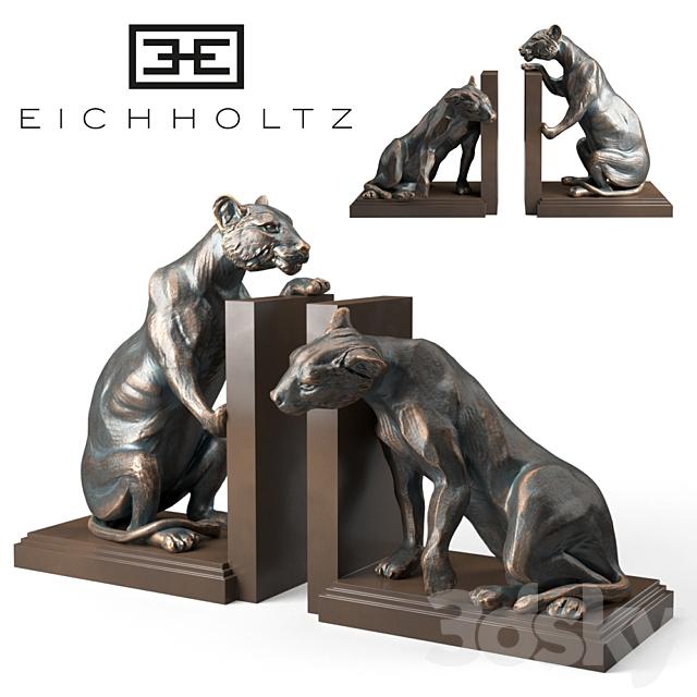 Bookend Lioness set of 2 Eichholtz