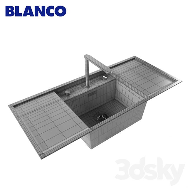 Washing BLANCO ALAROS 6 S and mixer BLANCO ELOSCOPE-F II