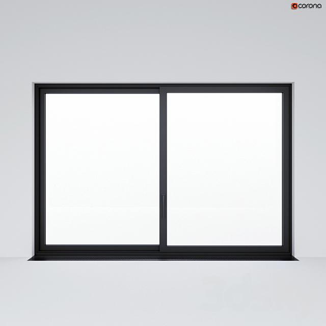 Sliding window (door) 3