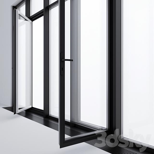 Panoramic glazing