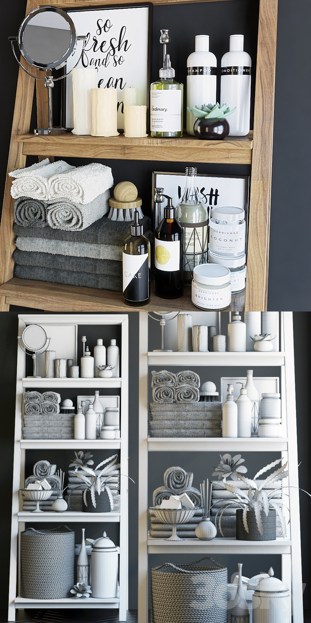 Shelving in the bathroom 6