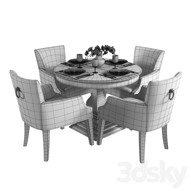 Dantone Table and Chair