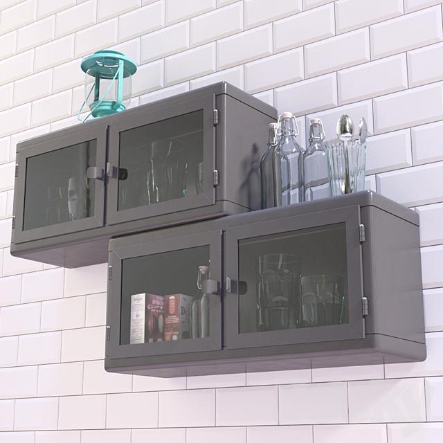 Cupboard hinged  Raskog