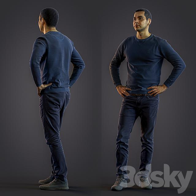 3d scan man 6