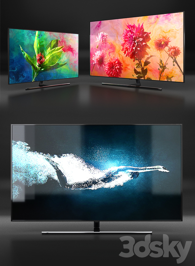 Samsung Q9F 4K Smart QLED TV 2018