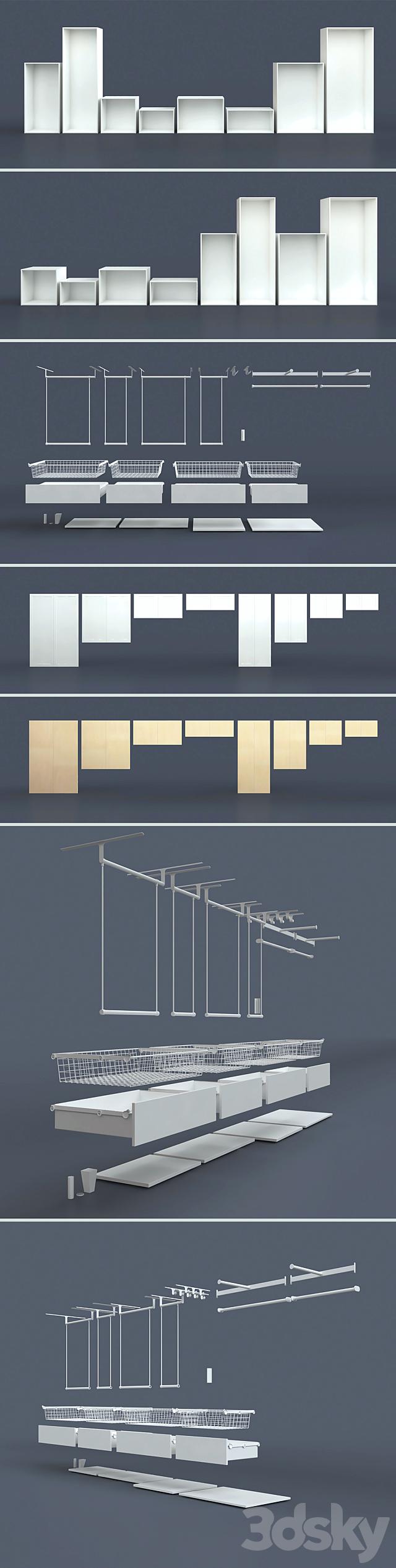 Modular system of IKPAS / Platsa (designer).