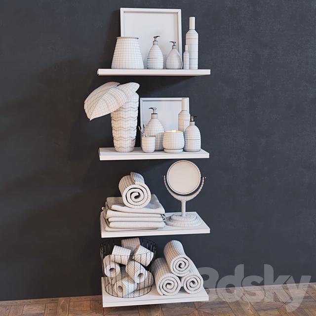 Decorative set for bathroom