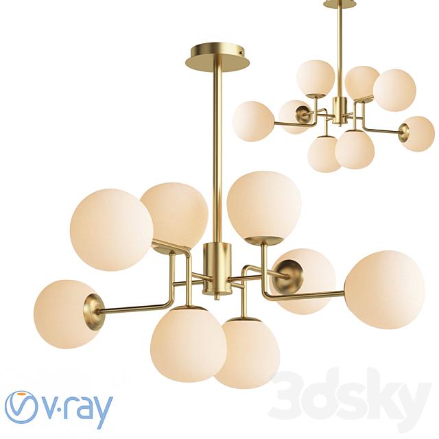 Maytoni Four Rod Lamp