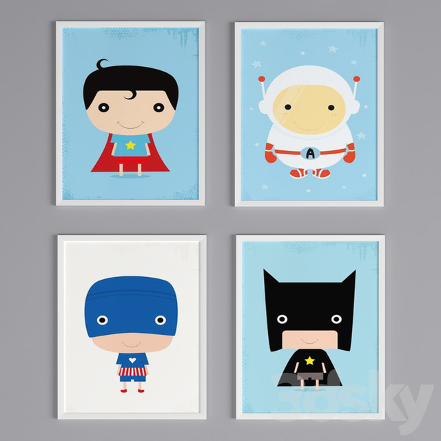 Kids Canvas Art Prints_4