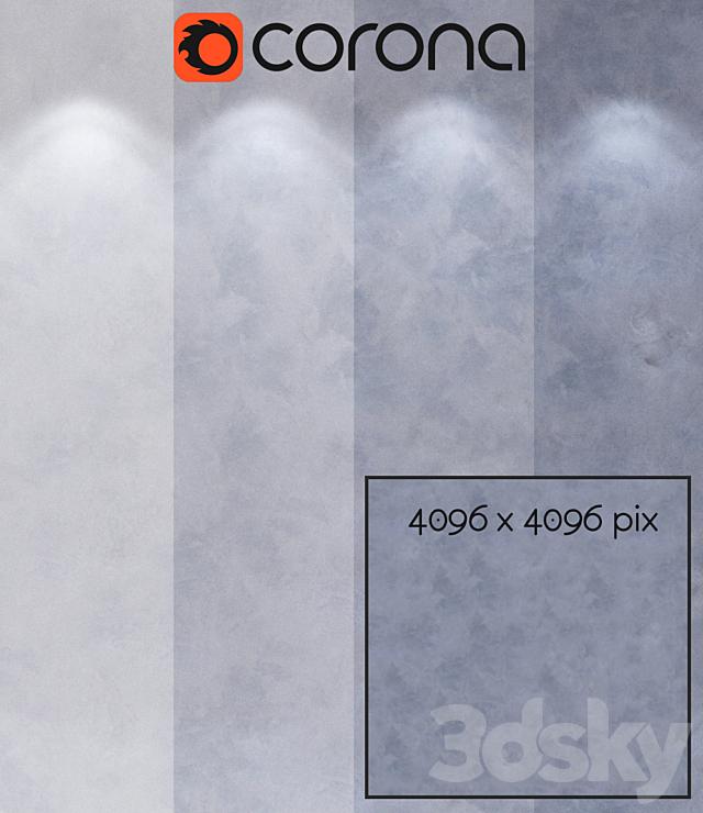 Decorative plaster, single-layer variant 209