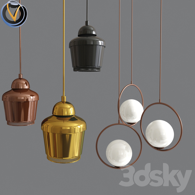 Globe Glass And Pendant light A330
