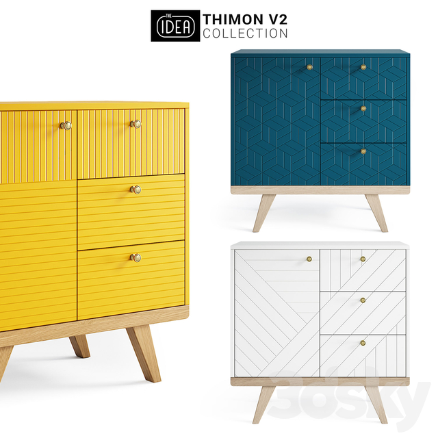The IDEA THINON v2 mini chest of drawers