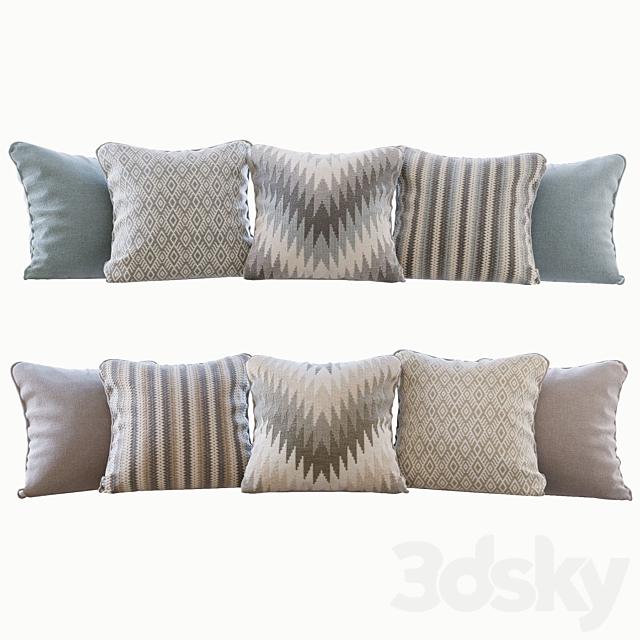 A set of pillows Romo 02