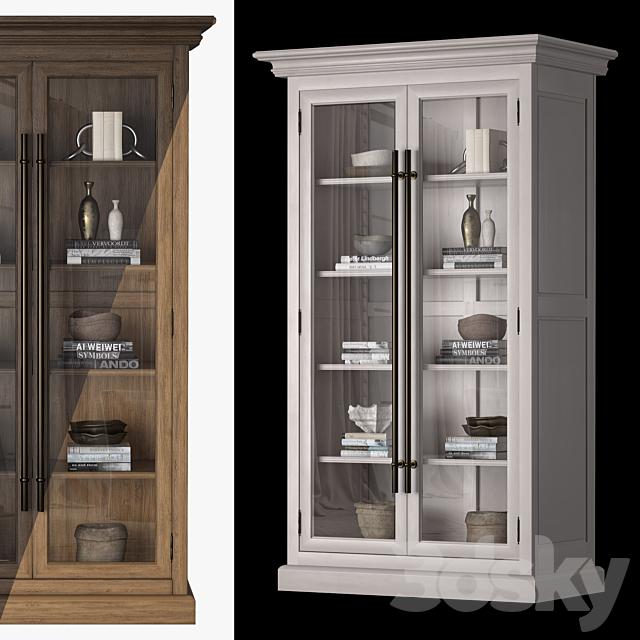 Wide cabinet 20th C. 2door