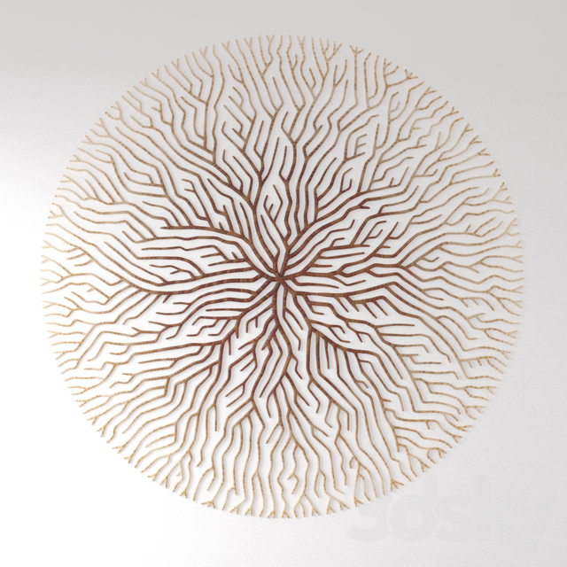 Wall Art Wooden Roots