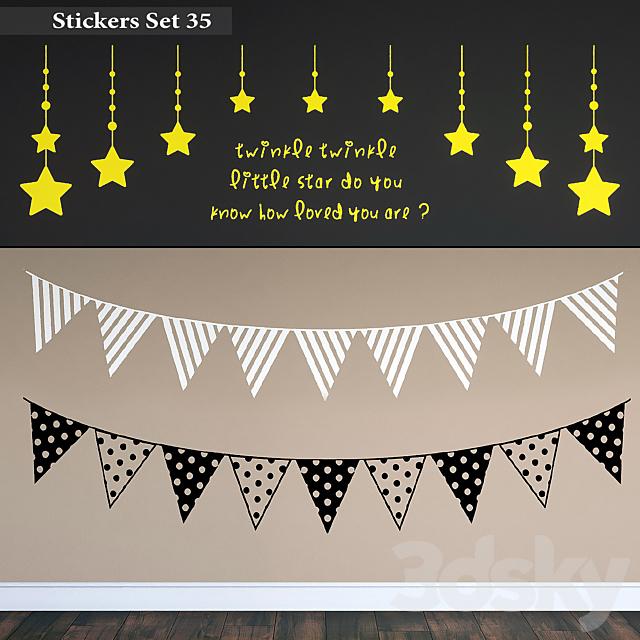 Stickers Set 35