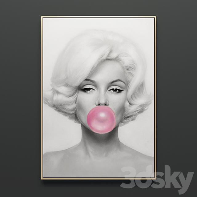 """Painting """"Marilyn Monroe"""""""