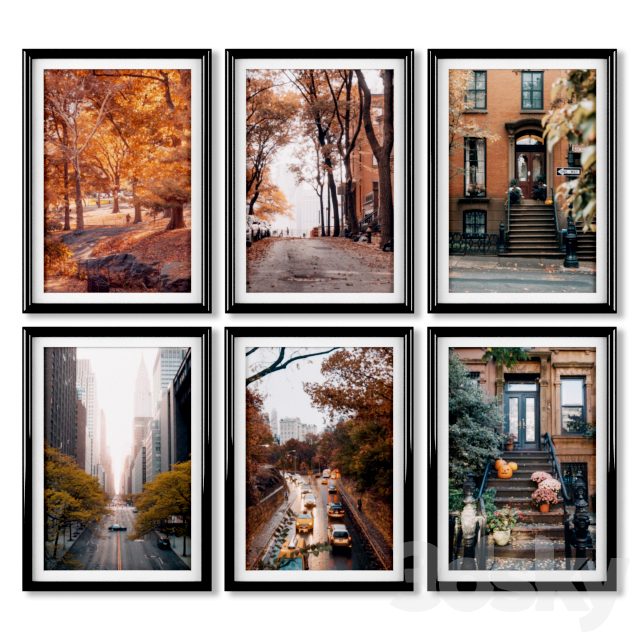 Posters: Autumn in New York.