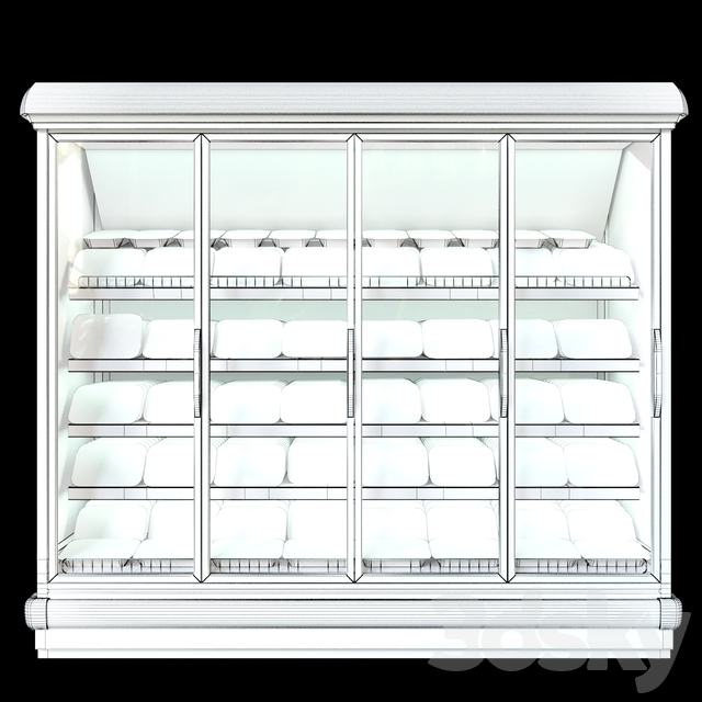 Refrigerated showcase Bonnetneve Proxima