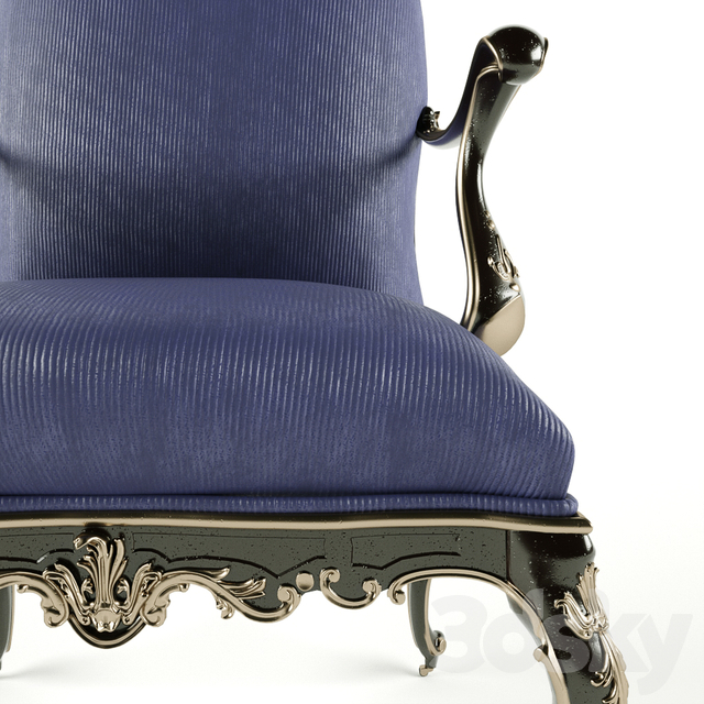 Roberto Giovannini Armchair With Wheels