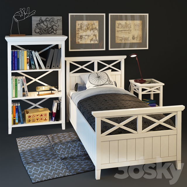 "Single bed ""Brittany"". ""Inlavka"""